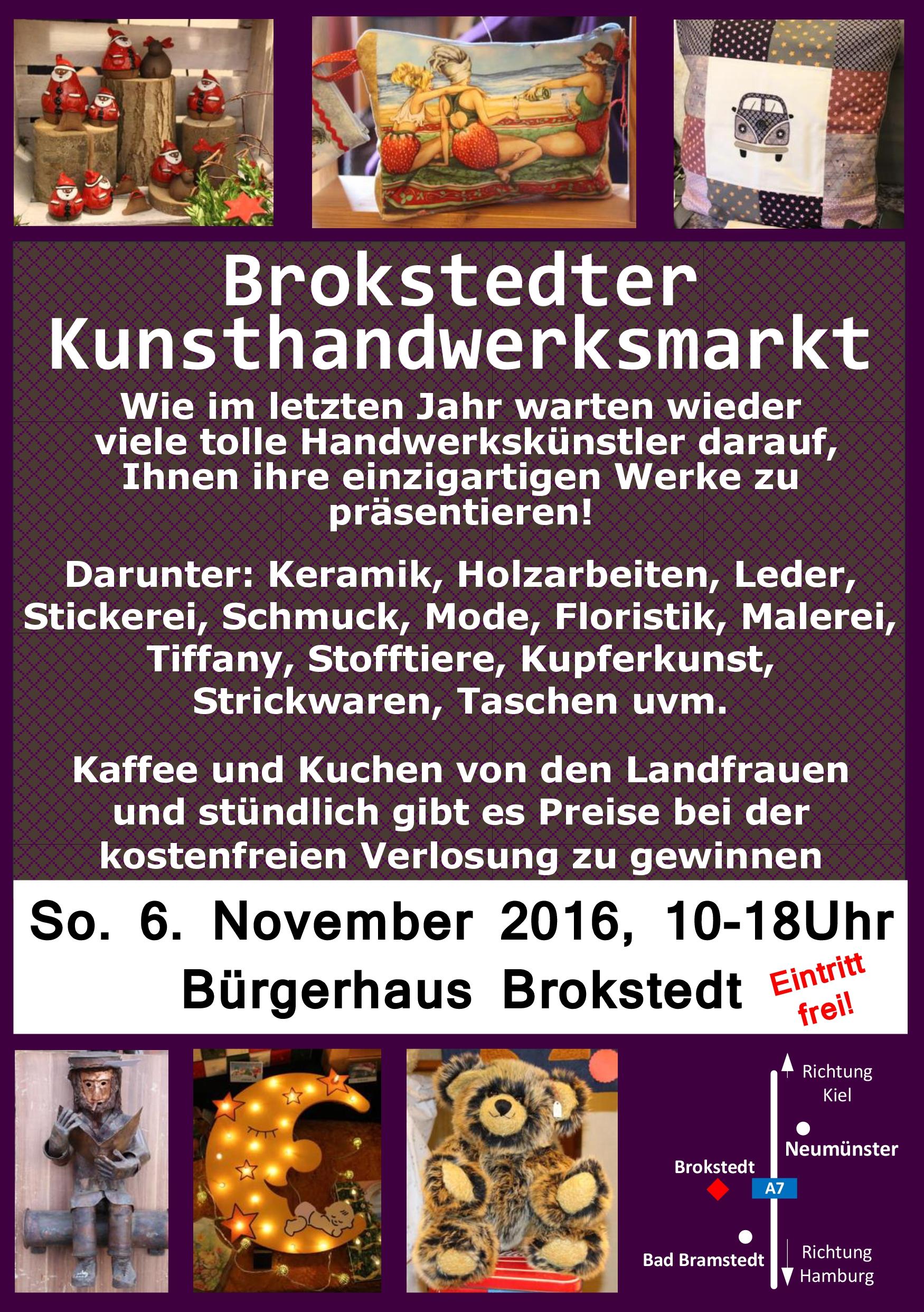 Brokstedter Kunsthandwerksmarkt